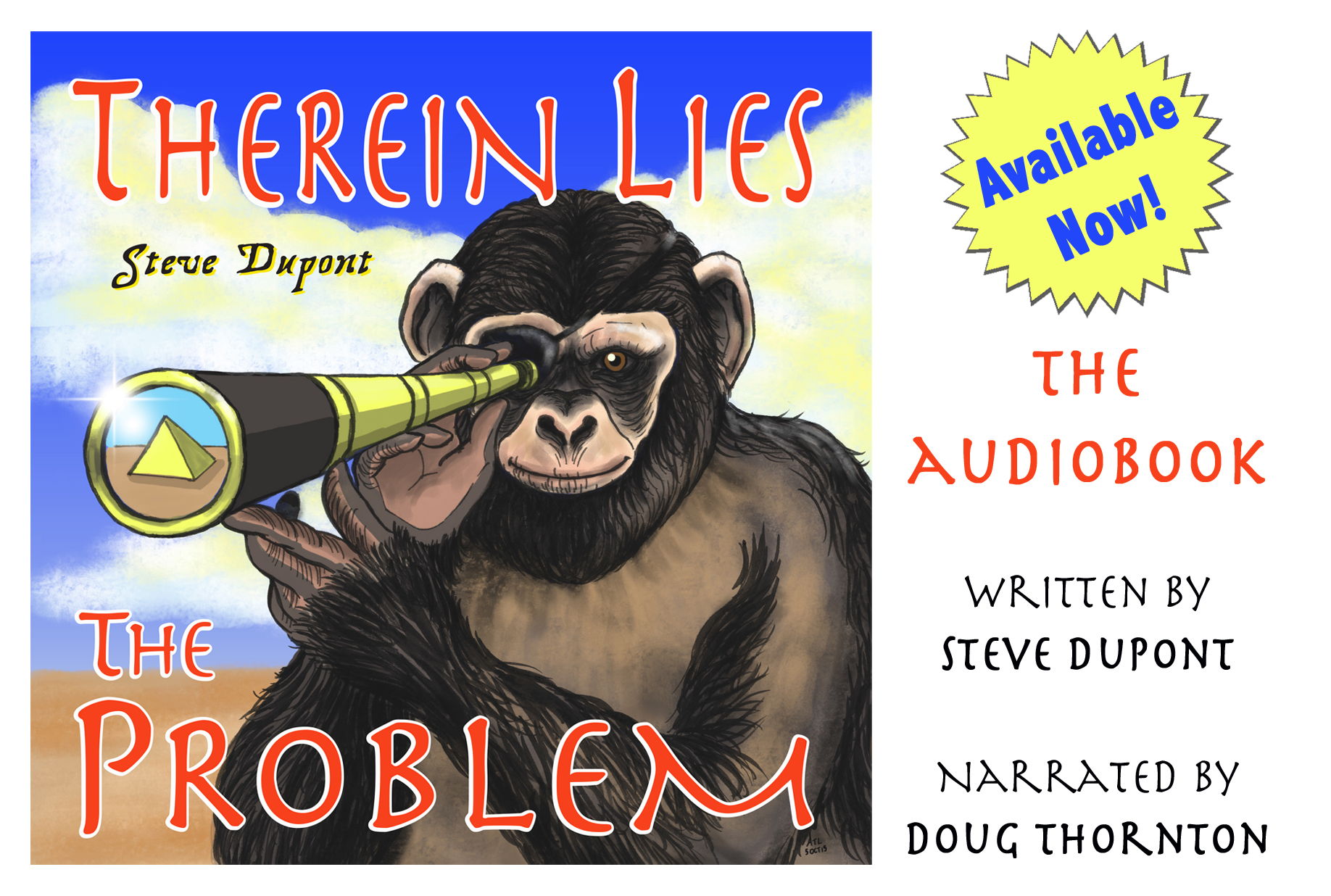 Now available, The Audiobook